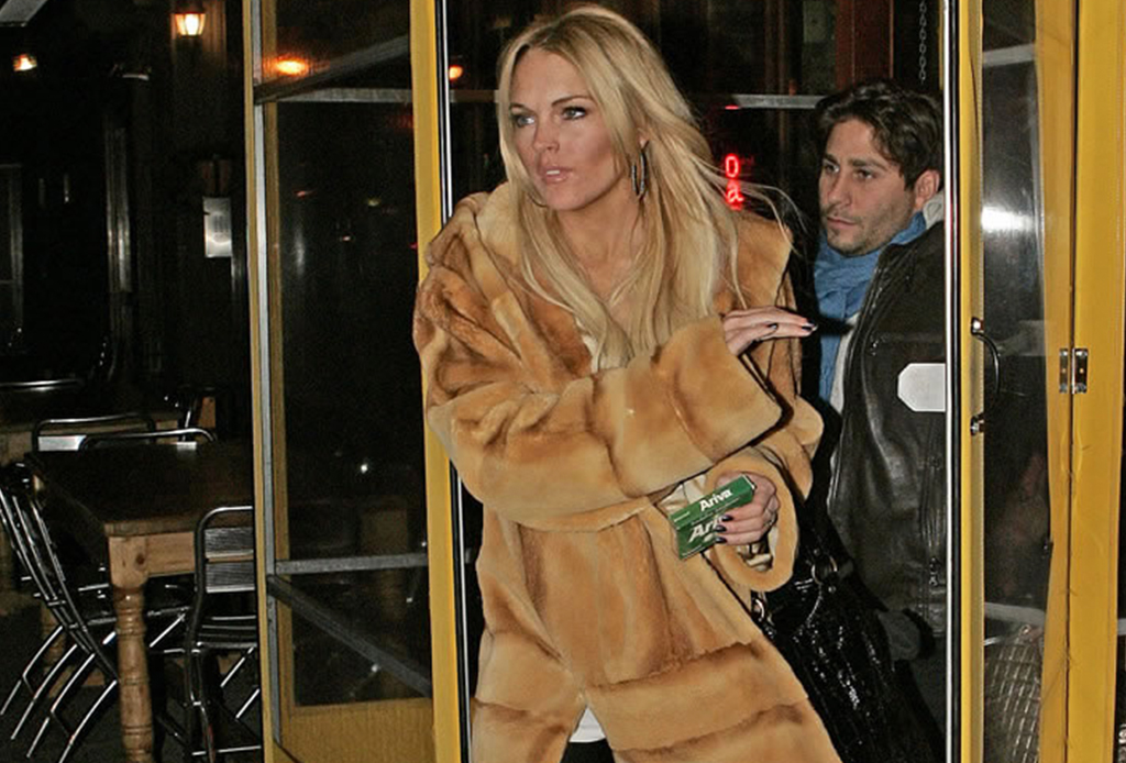 Los momentos más virales de Lindsay Lohan - lindsaylohan1