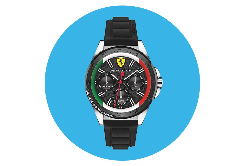 La Fórmula 1 Gran Premio de México es la inspiración de estos exclusivos relojes - relojesgpmexico1