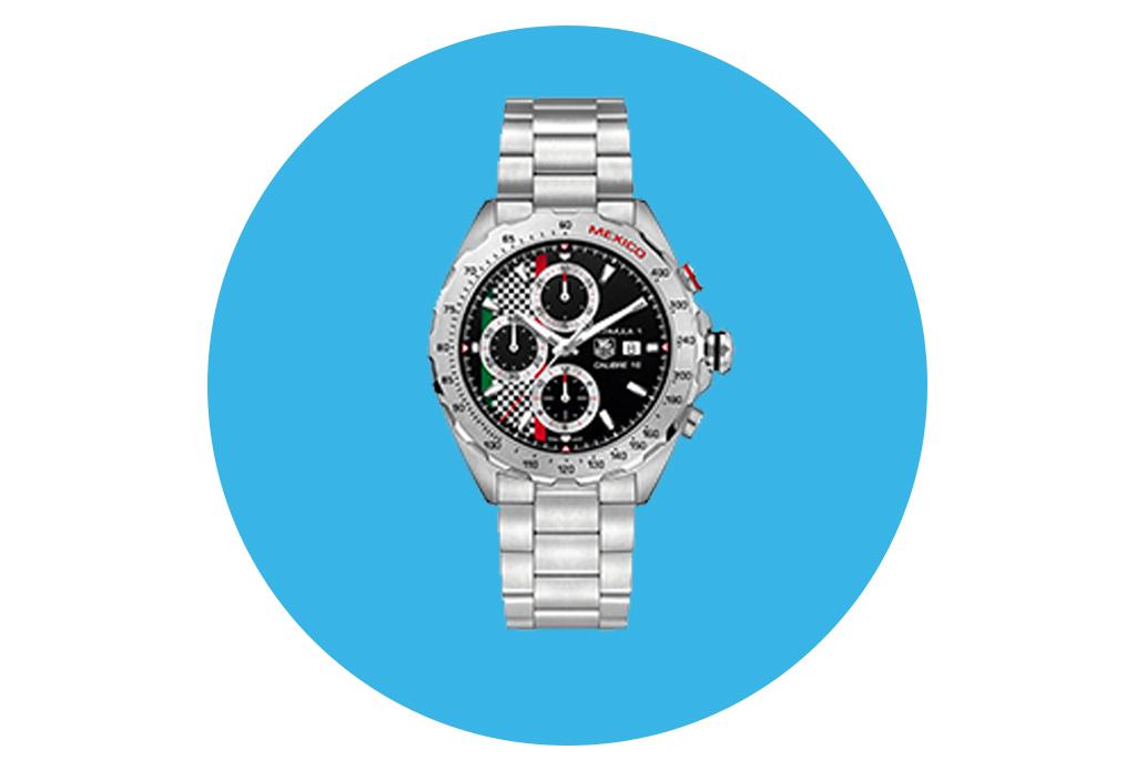La Fórmula 1 Gran Premio de México es la inspiración de estos exclusivos relojes - relojesgpmexico2