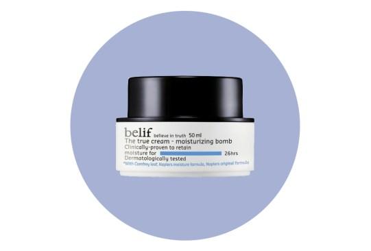 ¿Piel seca? ¡Hidrátala con estas poderosas cremas! - crema-facial-hidratante-belif-300x203