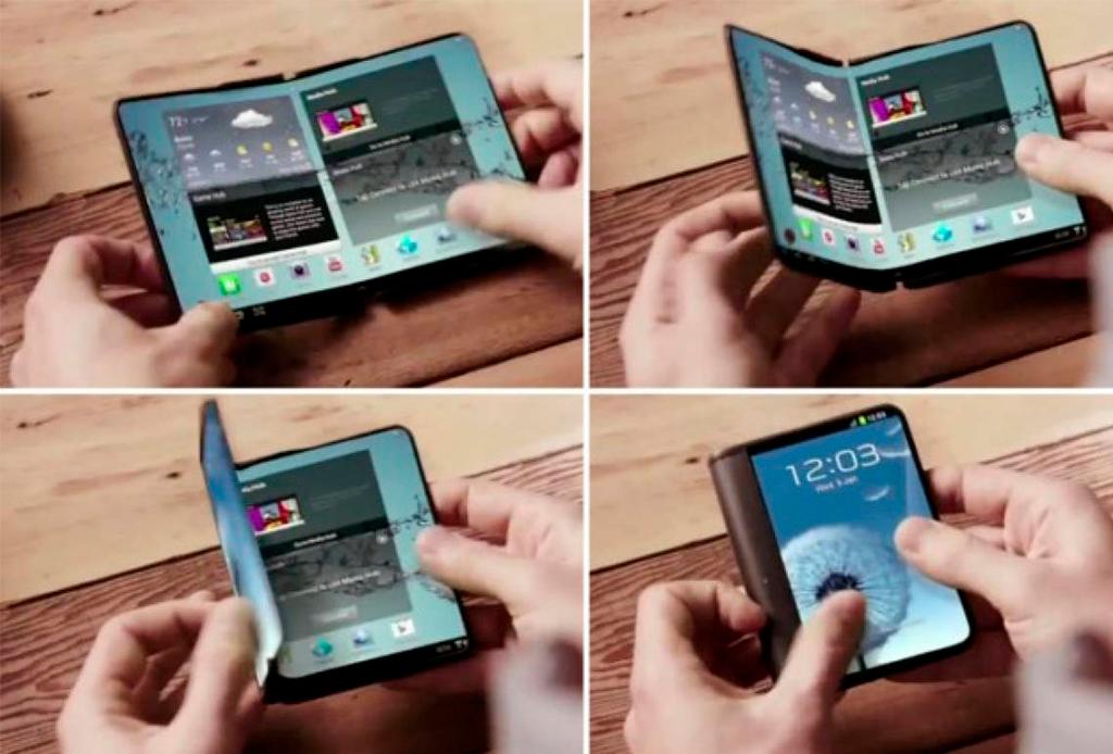 Existe un smartphone que se dobla para convertirse en tablet, ¡conócelo! - telefono-plegable-2