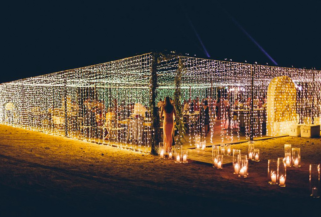 La tendencia en decoraci n para el d a de tu boda techos - Luces de ambiente ...