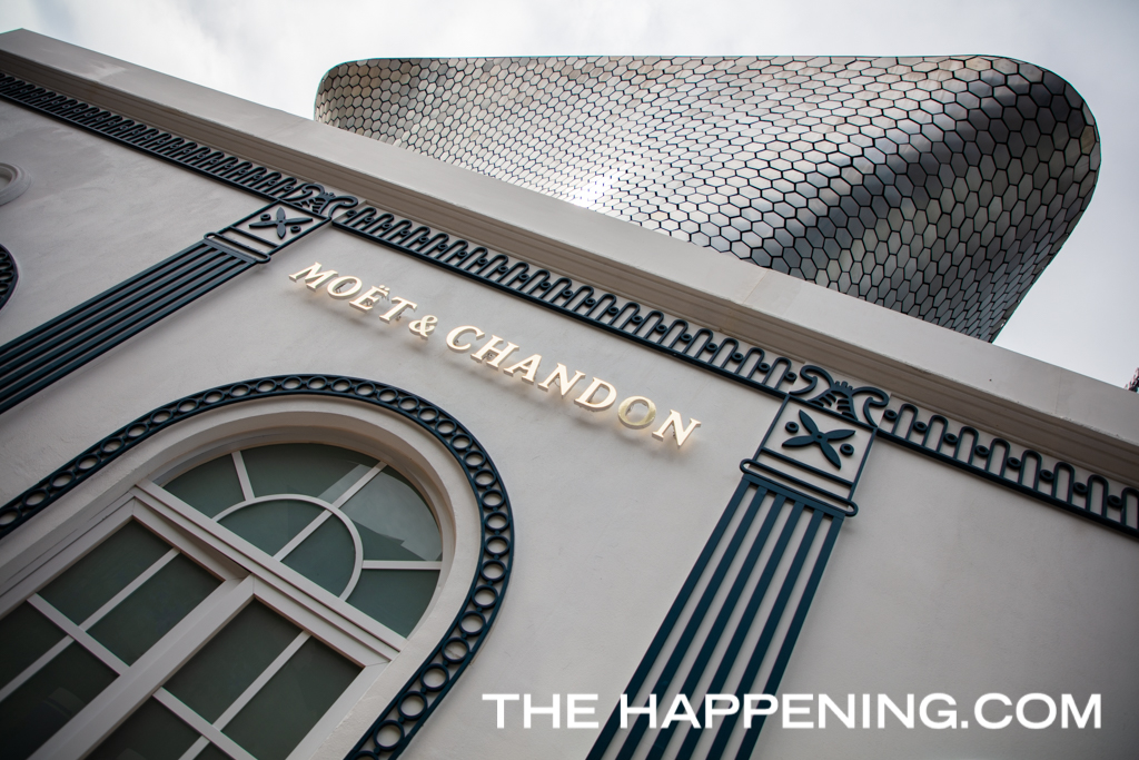 ¿Ya visitaste la réplica del edificio francés L'Orangerie que instaló Möet & Chandon en Plaza Carso?