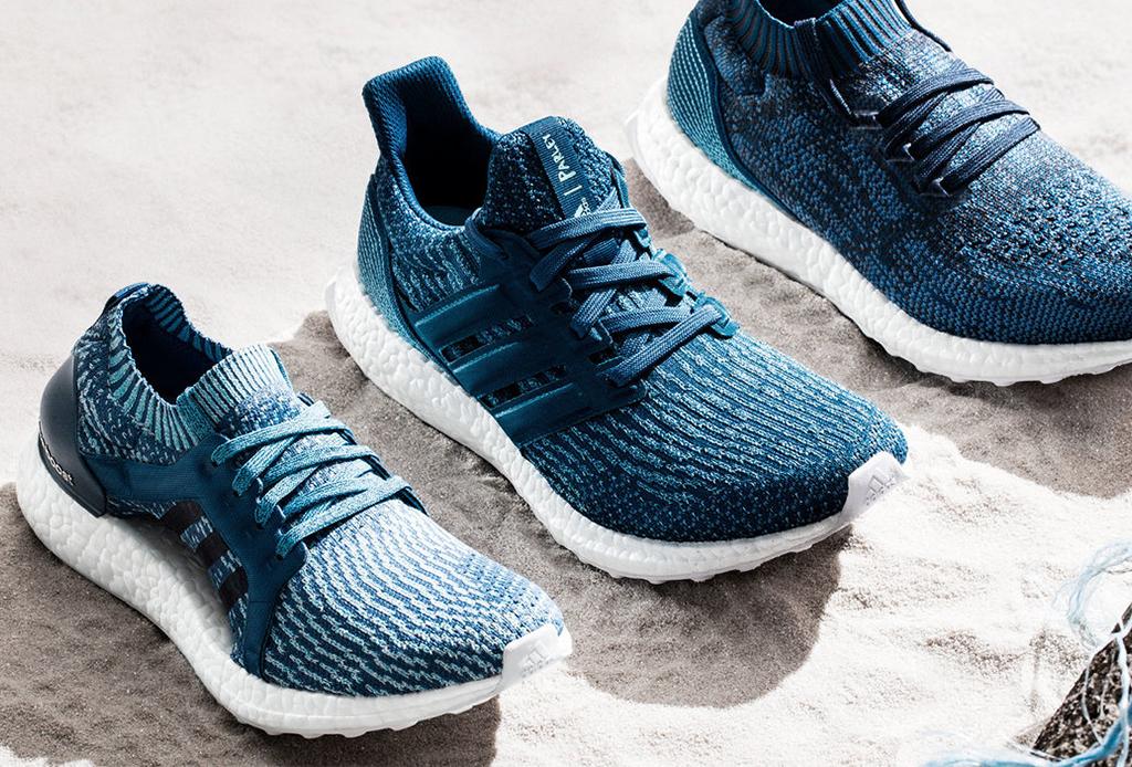 zapatos adidas plástico reciclado