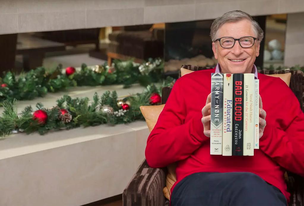 Los mejores libros del 2018 según Bill Gates