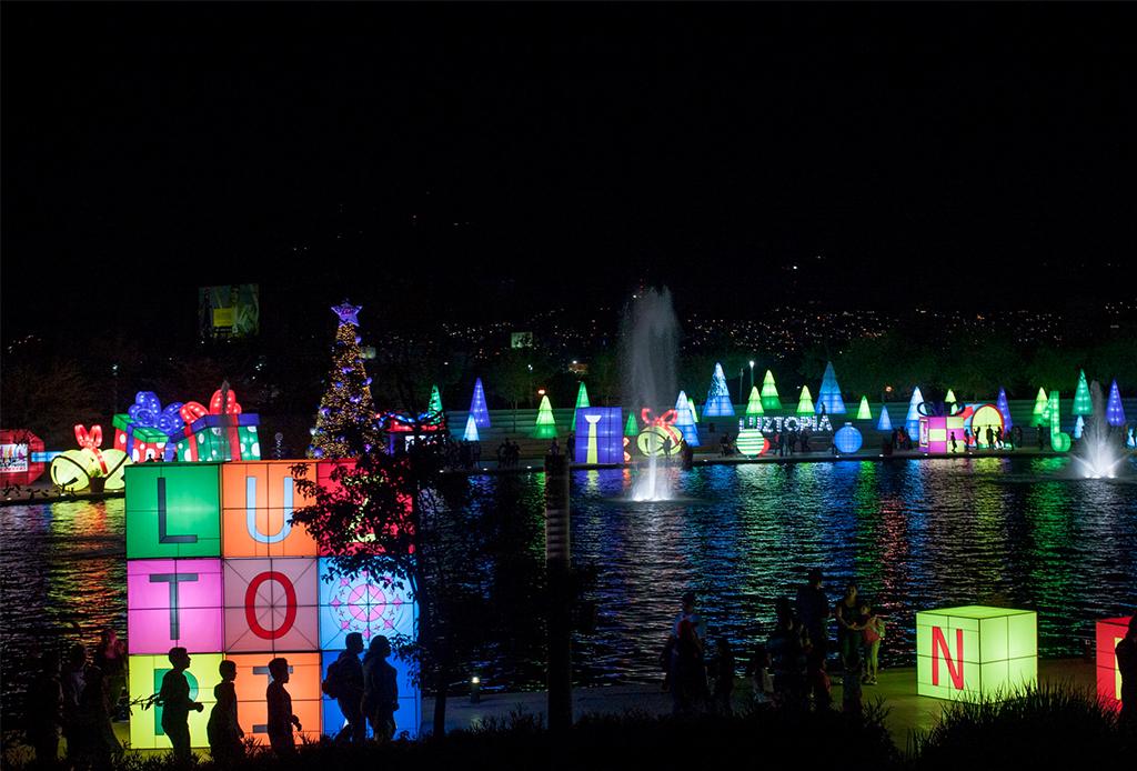 Luztopía 2018, el festival de luces navideñas que no te puedes perder en Monterrey - luztopia-2