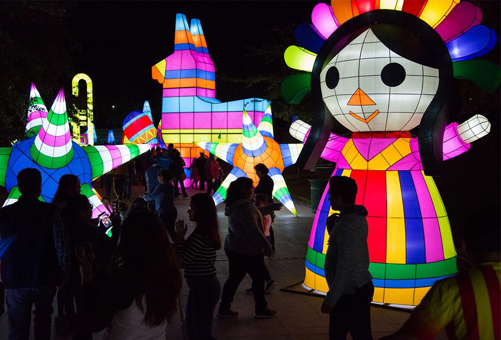 Luztopía 2018, el festival de luces navideñas que no te puedes perder en Monterrey