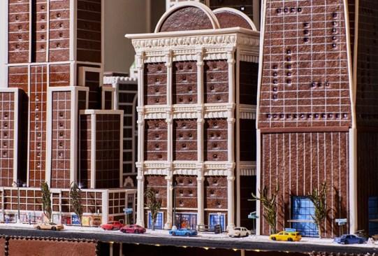 Hay una réplica de la ciudad de Nueva York ¡hecha con gingerbread! - nueva-york-ciudad-hecha-de-pan-de-jengibre-2-300x203