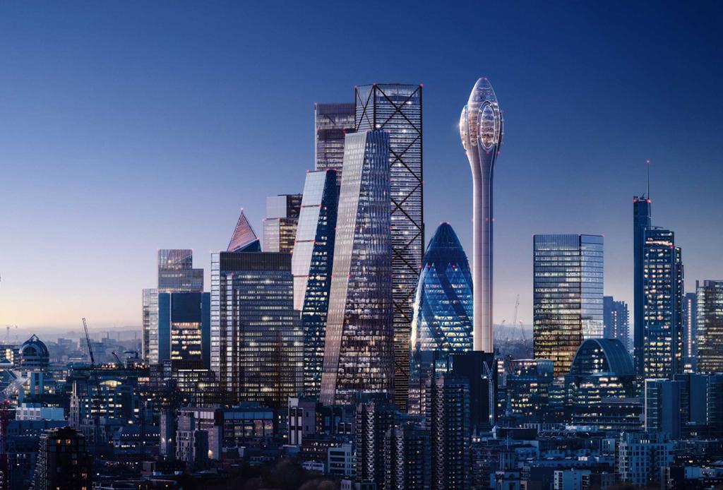 Lo que tienes que saber sobre el nuevo rascacielos de Londres: The Tulip