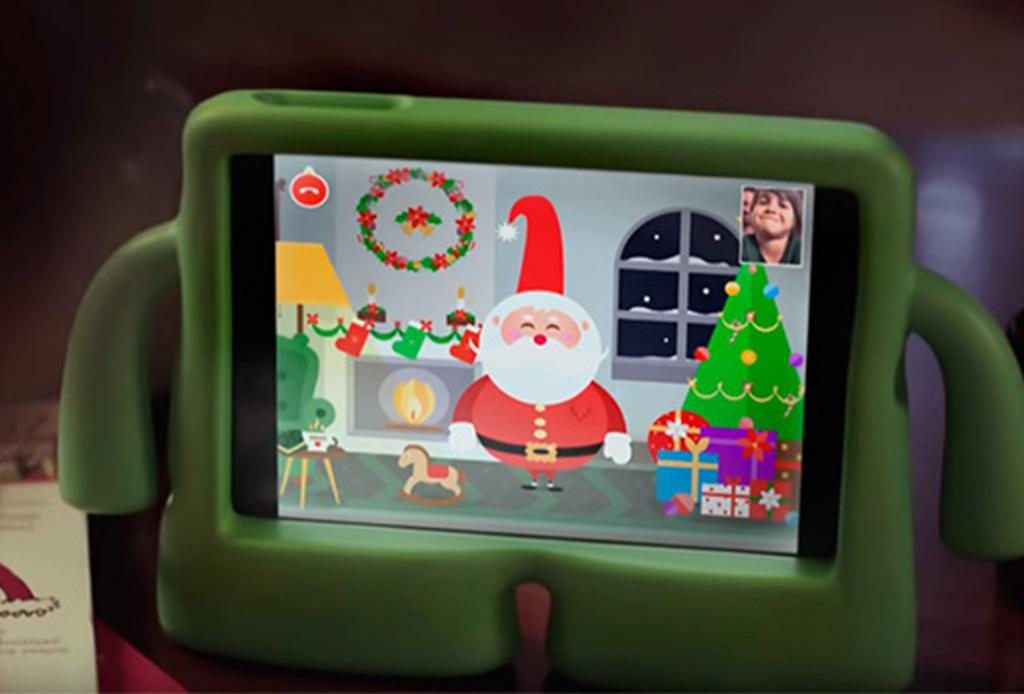 ¿Tus hijos o sobrinos quieren hablar con Santa Claus? ¡Tienes que descargar esta app! - xmas-time-2