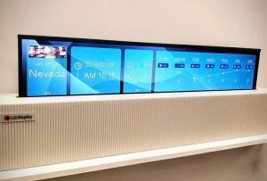 Las pantallas más cool que se presentaron en el CES 2019