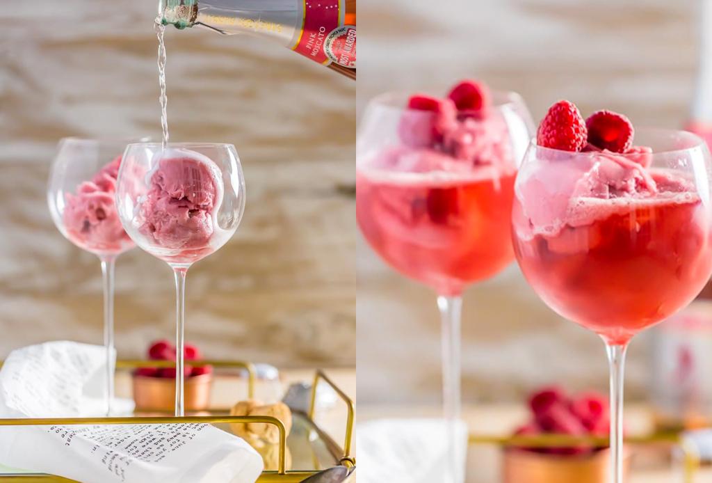 Recetas de drinks rosas para San Valentín que puedes hacer en casa - drinks-rosas-2