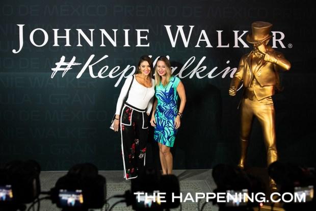 Johnnie Walker inauguró oficialmente las celebraciones de la F1 Gran Premio de México 2019 - katy-garcia-y-angela-arcila