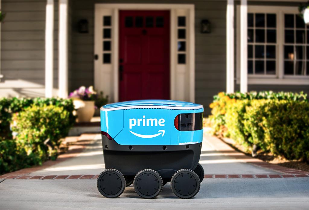 Conoce a 'Scout' el nuevo robot para hacer delivery de Amazon - scout-amazon-2