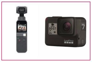 Osmo Pocket vs. GoPro Hero 7, ¿Cuál es la mejor opción?