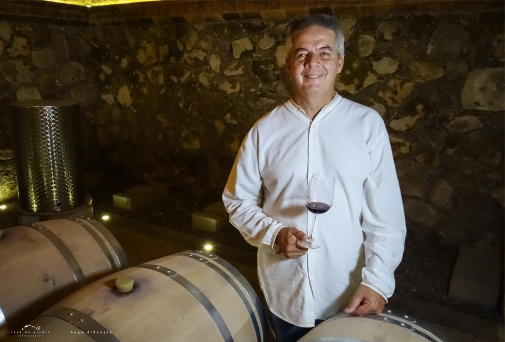 Así se escucharía el vino de Baja California según Hugo D'Acosta - enologo-hugo-dacosta-festival-morelia-en-boca-2019-enologia