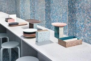 Este restaurante emergente fue hecho de materiales reciclables e inspira al diseño sustentable