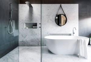 Haz de tu baño un espacio de diseño con esta inspiración