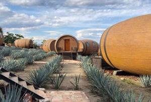 Conoce el primer hotel en barricas de tequila