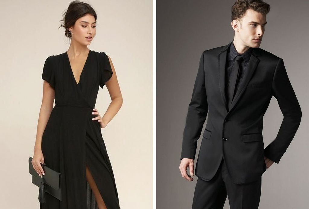 Se Vale Ir Vestido Completamente De Negro A Una Boda