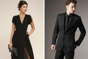 ¿Se vale ir vestido completamente de negro a una boda?