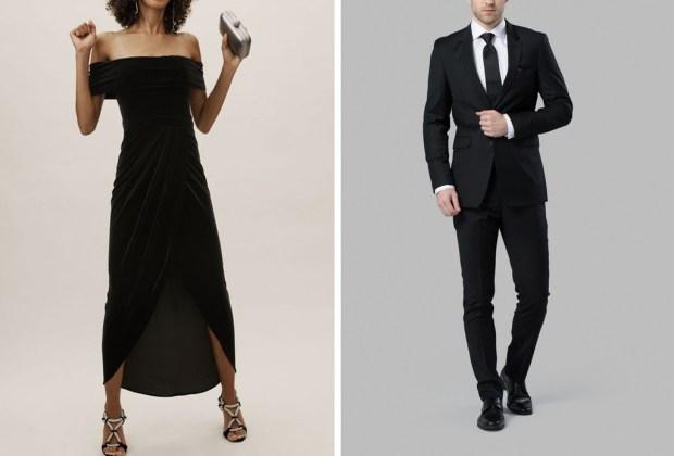 ¿Se vale ir vestido completamente de negro a una boda? - vestir-negro-invitado-boda-1