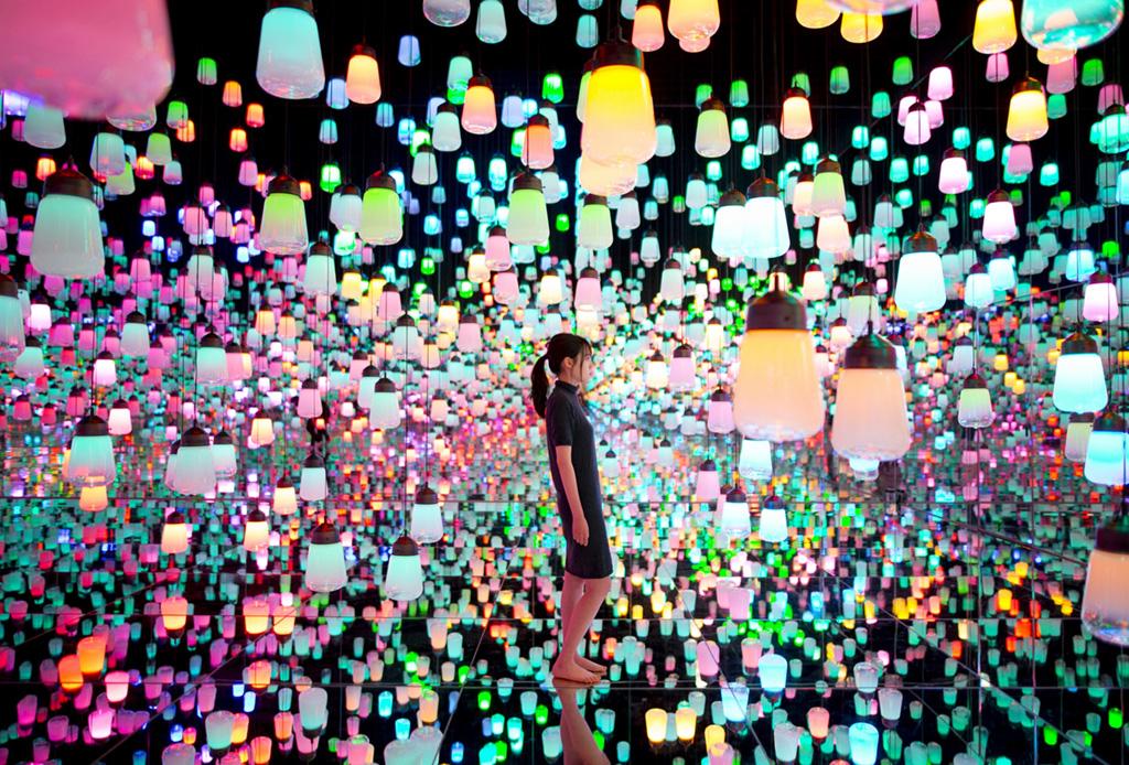 Por qué el museo de arte digital es un must en tu visita a Tokio