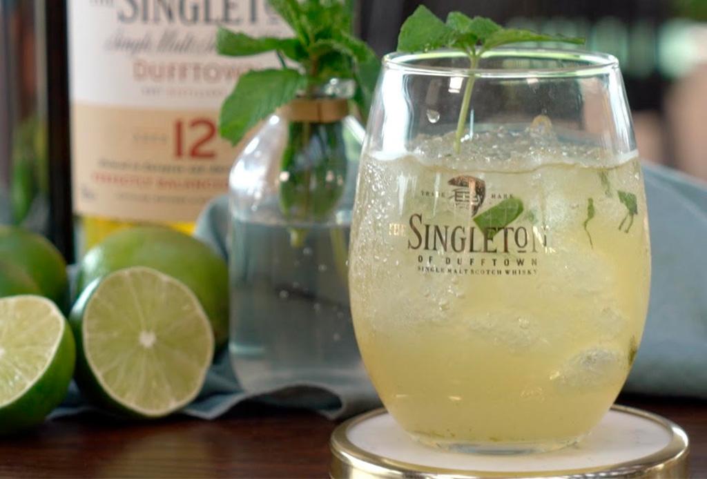 Ginger Mojito: una fresca versión creada por The Singleton de la bebida más famosa