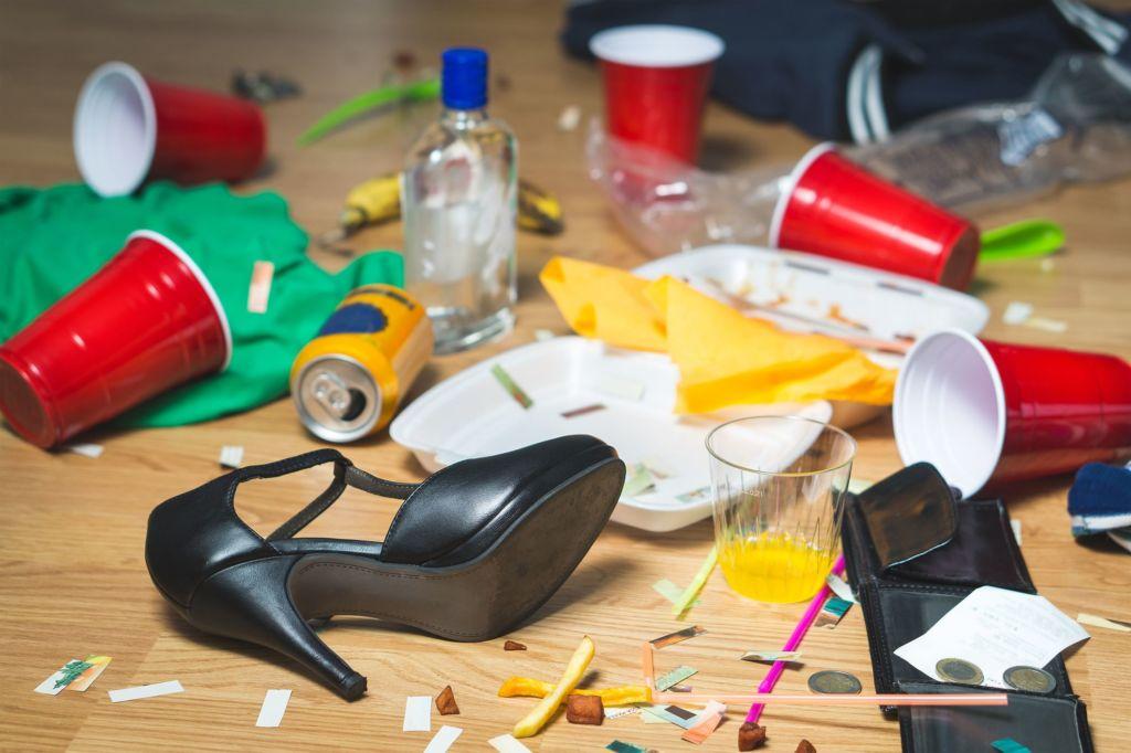 Consejos de personas Tipo A para tener un hogar perfecto - fiesta-destrozo-1024x682