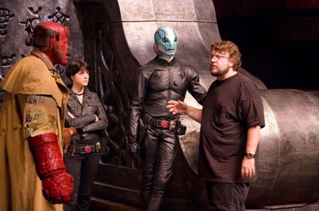 Cómo Guillermo del Toro ganó una estrella en el paseo de la fama de Hollywood - hellboy