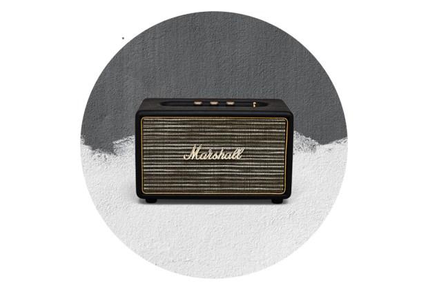 Las mejores bocinas portátiles para una fiesta en la terraza - marshall-acton-speaker