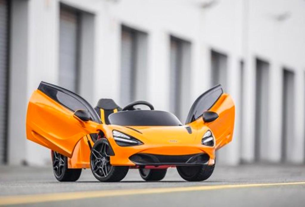 McLaren 720S, el auto eléctrico deportivo para los más pequeños