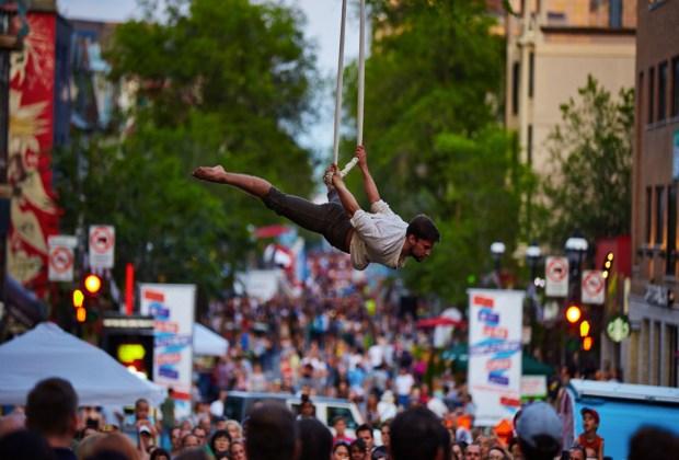 4 Festivales que no puedes perderte en Canadá durante el verano - montreal-cirque-festival