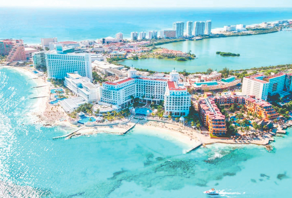 Estas son las playas favoritas de los mexicanos - playas-mexico-1-1024x694