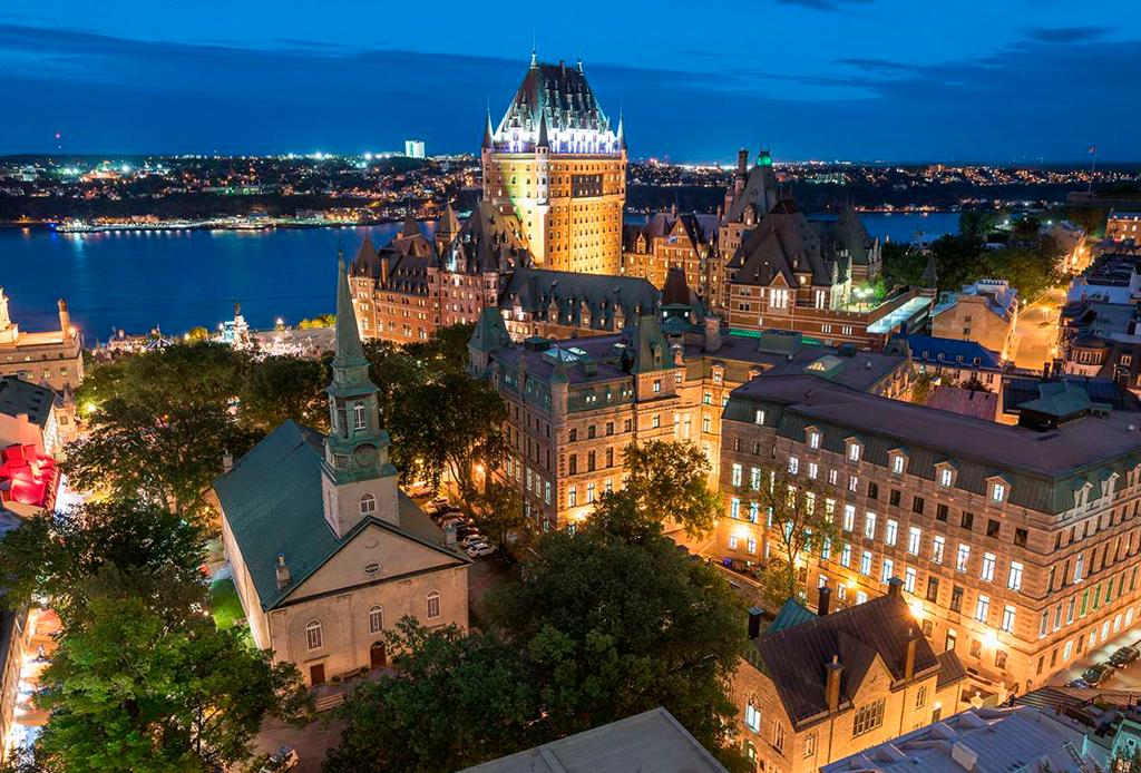 5 actividades que puedes hacer todo el año en la Ciudad de Quebec