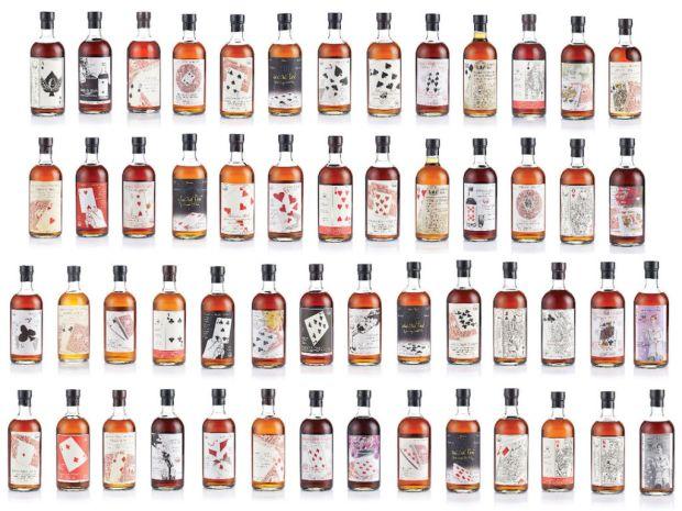 Venta de colección de whisky japonés rompe récord de casi $1 mdd - bonhams