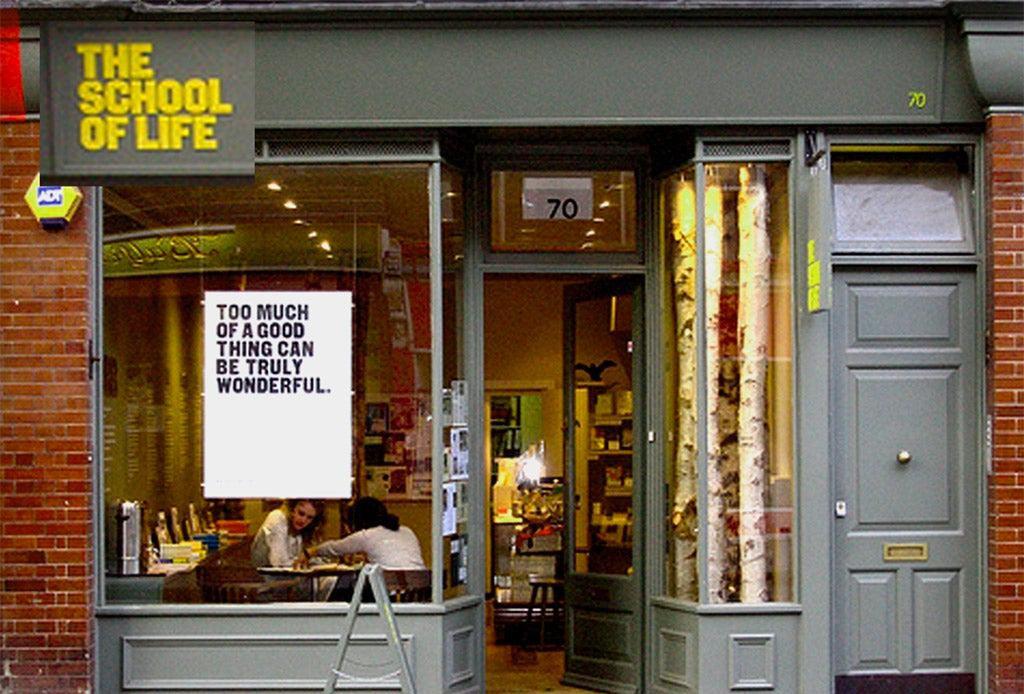 «The School of Life» La escuela fundada por Alain de Botton que nos enseña a vivir
