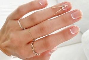 Sigue estos diseños para llevar el blanco en tus uñas