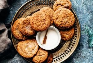 Prepara tus propias galletas de golden milk
