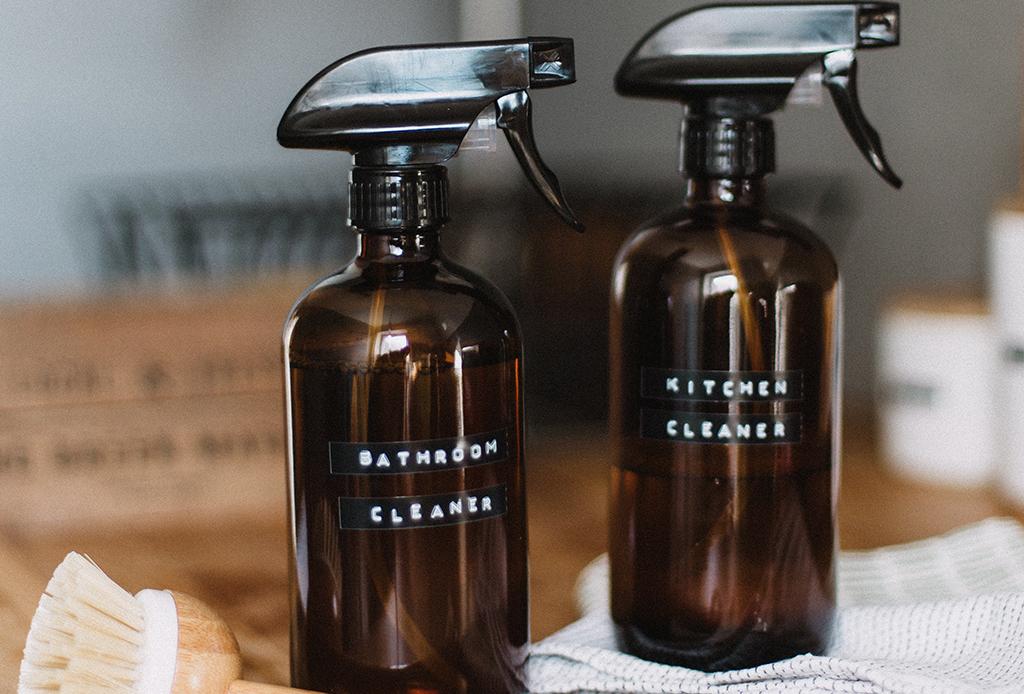 Prueba estos limpiadores ecológicos hechos en casa