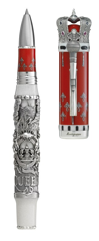 Montegrappa rinde tributo a Queen con esta increíble pluma - pluma-queen