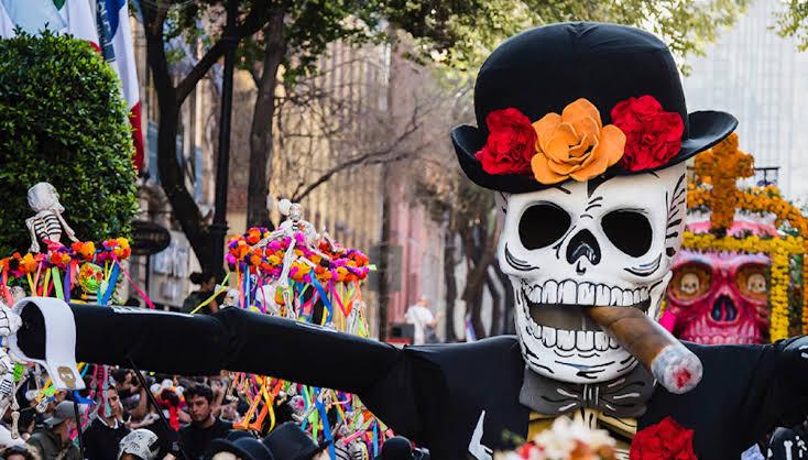 Desfile internacional de Día de Muertos - desfile