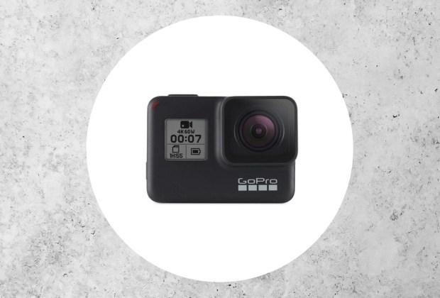 ¿Amante de la adrenalina? Estas cámaras son perfectas para la acción - gopro-hero7-black