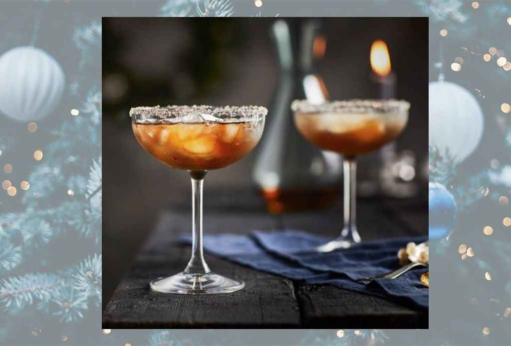 Disfruta de estos cócteles ideales para el invierno en menos de 15 minutos - bourbon-maple-coctel