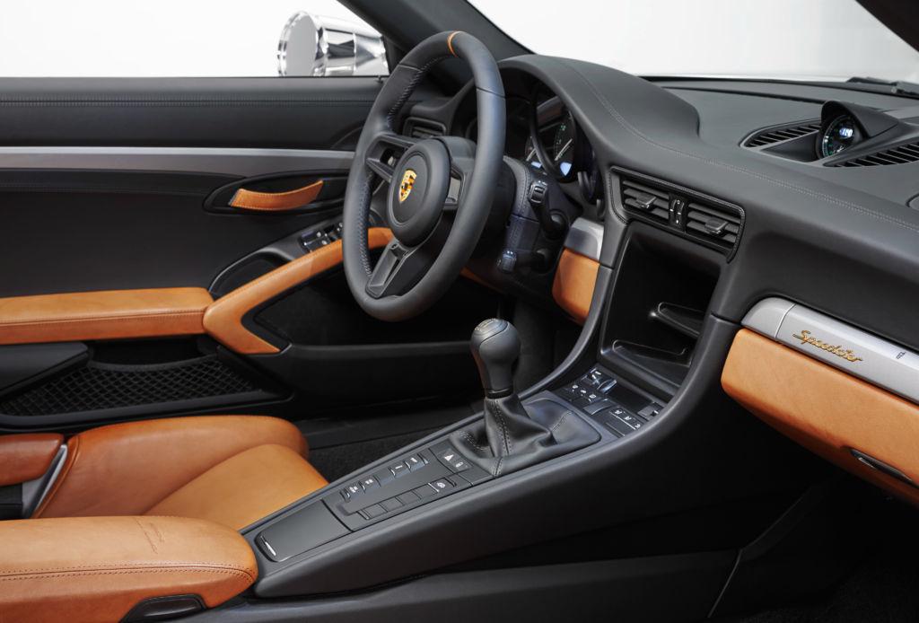 El nuevo Porsche Speedster es un homenaje a su pasado - speedster