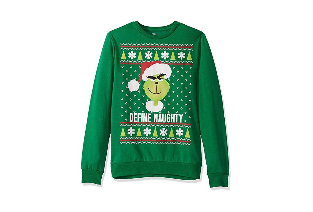 Checa estos ugly sweaters para regalar esta Navidad - ugly-sweater-grinch