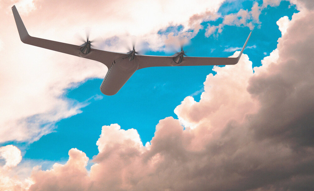 Este es el primer avión que espera volar sin combustible - avion
