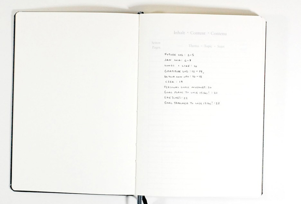 'Bullet journaling' es la nueva técnica para organizarte y trabajar mejor - bullet-journal-3