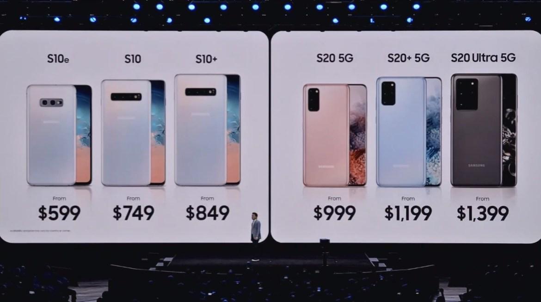 Así es el nuevo Samsung Galaxy S20 Ultra y todas las nuevas sorpresas del Unboxing 2020 - galaxy-precios