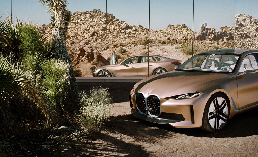 BMW i4, el futuro de la marca en un sólo auto - bmw-i4-frente